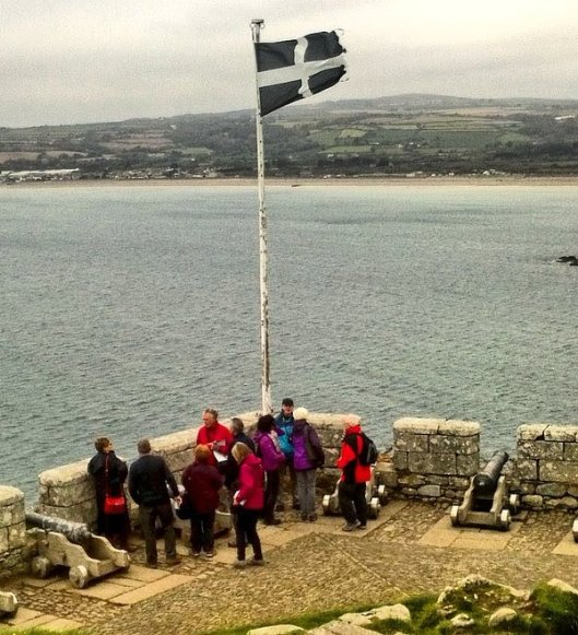 Cornish flag The Mount